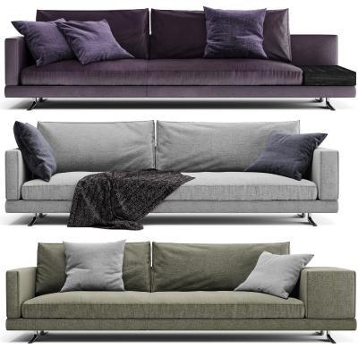 意大利Poliform多种形式多人沙发