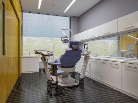 现代医院 牙科诊室
