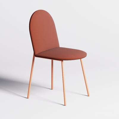现代靠背单椅