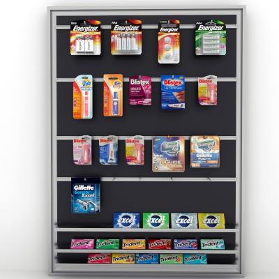 现代超市商品展架