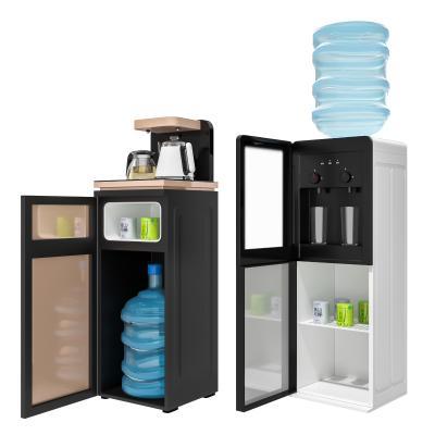 现代饮水机组合 水壶 矿泉水