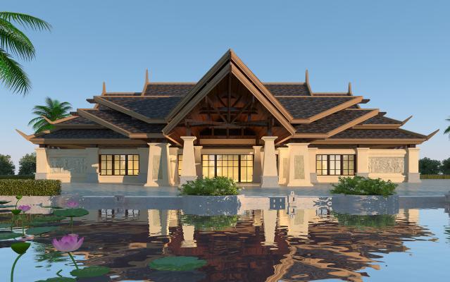 东南亚风格酒店