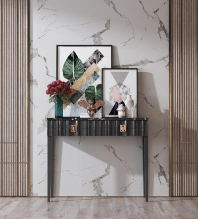 現代輕奢玄關 案幾 擺件組合 擺件 裝飾品