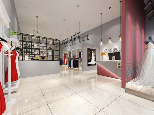 现代婚纱店