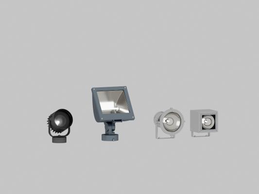 現代投影射燈