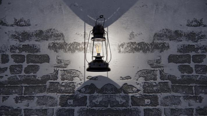 现代煤油灯