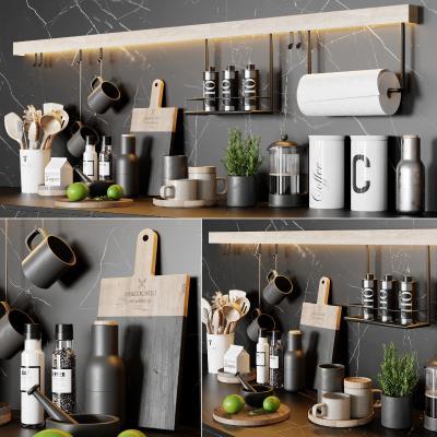 現代廚房用品組合