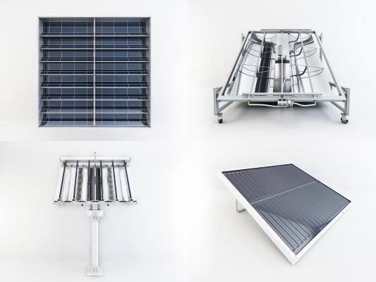 现代太阳能电子设备