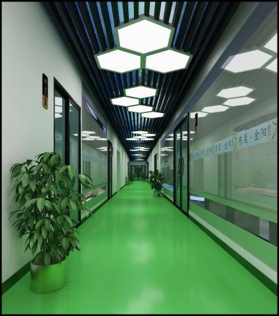 現代科技走廊