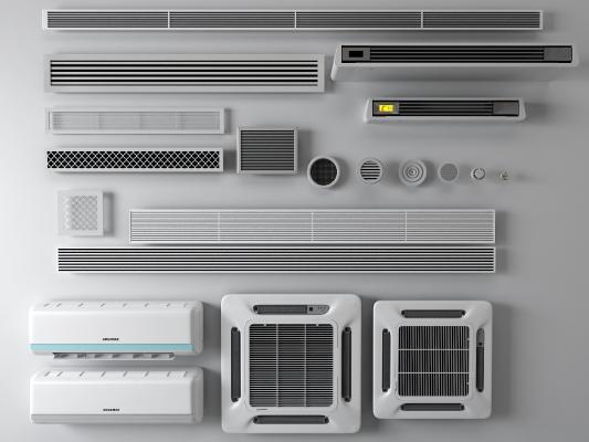 现代家用电器 空调出风口