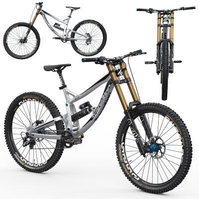 现代山地自行车