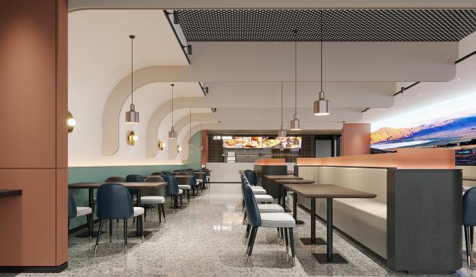 现代餐厅 餐馆