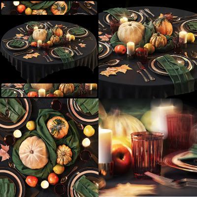 现代万圣节餐具