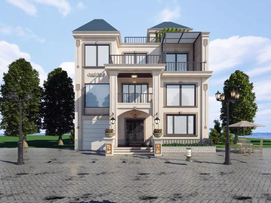 现代风格别墅建筑