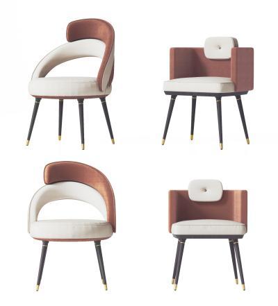 现代餐椅 单椅