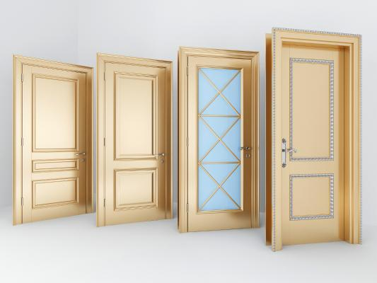 现代金属单开门组合