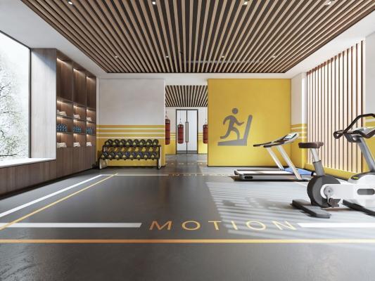 现代健身区