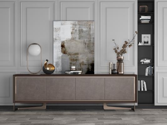 现代装饰边柜电视柜餐边柜