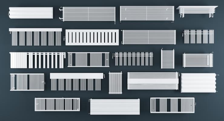 現代暖氣暖氣片組合 暖氣片 取暖器