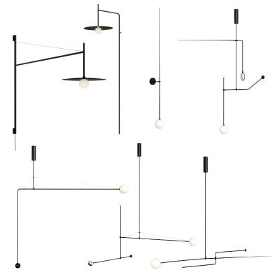 现代创意铁艺吊灯