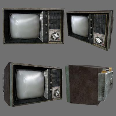 工业风电视机