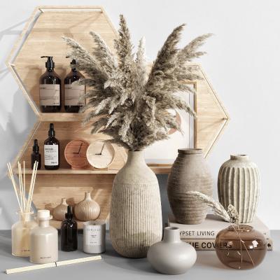 北欧花瓶饰品摆件组合