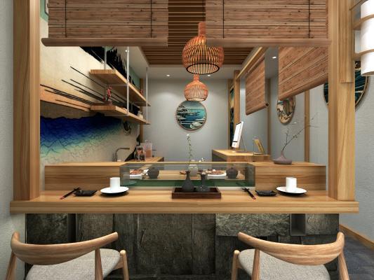 日式餐饮空间 寿司店