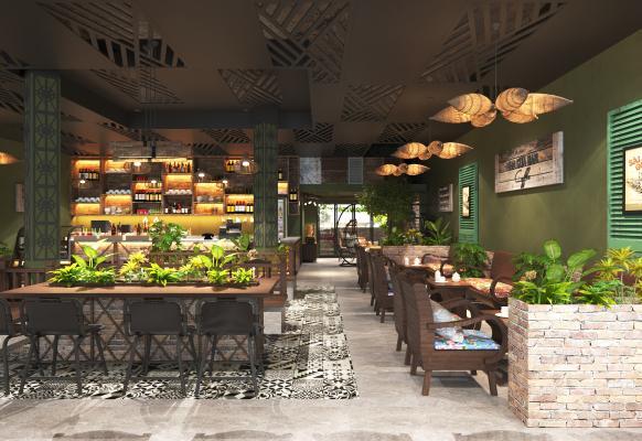 东南亚咖啡厅