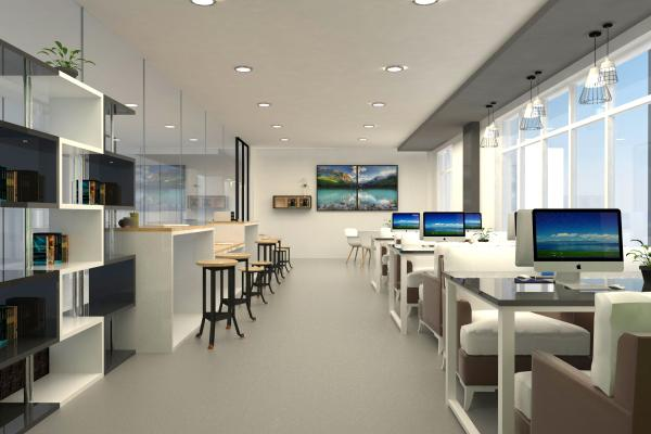 现代电子阅览室