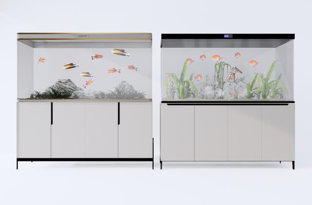 现代 鱼缸