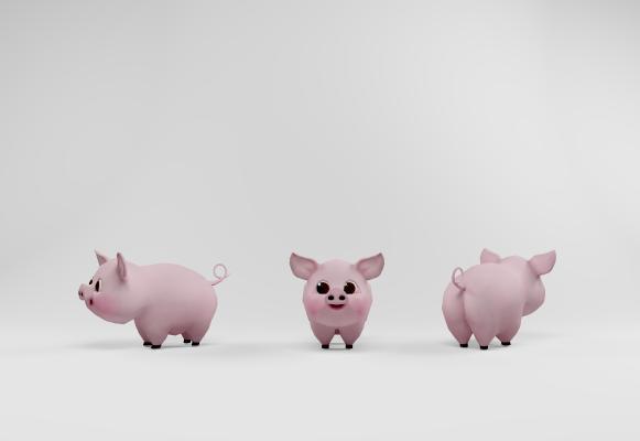 现代小猪玩具