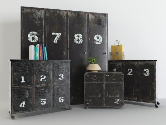 现代装饰柜架 置物柜 储物柜