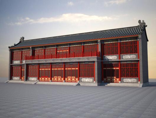 中式古建门头仿古建筑