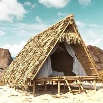 現代茅草度假屋