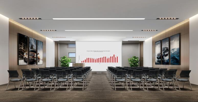 现代多功能会议室 培训室