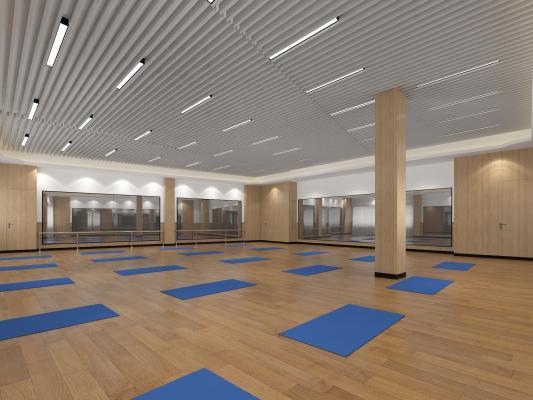 现代舞蹈室
