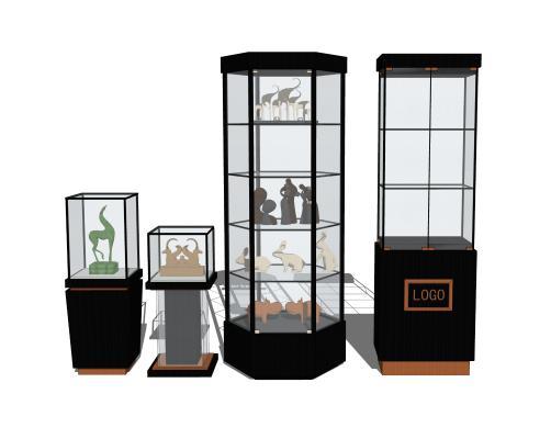 现代商场展示柜