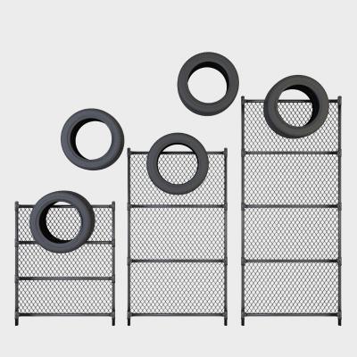 工业风轮胎铁丝网