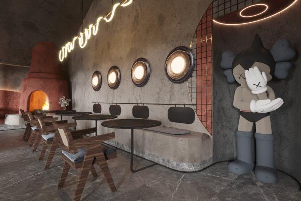 工業風酒吧 餐廳