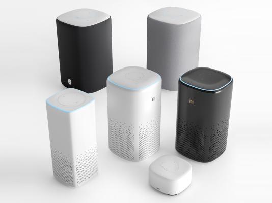 现代小米智能音箱组合