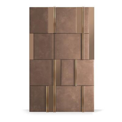 现代软包背景墙饰 硬包