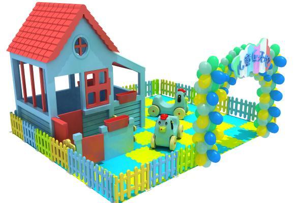 现代风格塑料儿童大型玩具