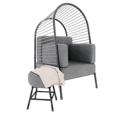 現代戶外沙發躺椅 休閑椅 躺椅