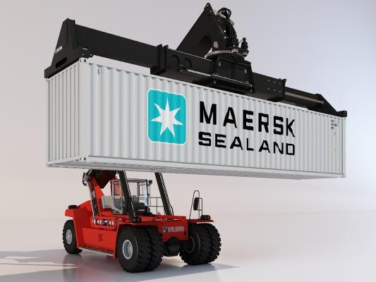 码头货物装载车