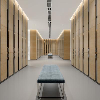 现代更衣室