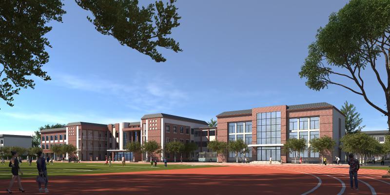 新中式学校