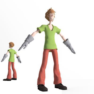 现代游戏人物 虚拟人物 动漫人物 卡通人物