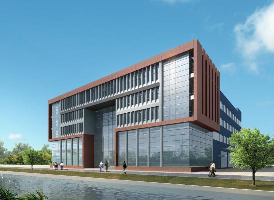 现代厂房办公楼