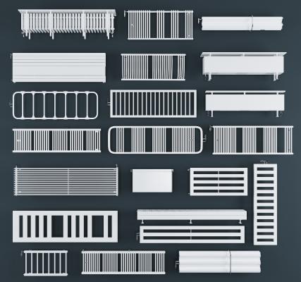現代暖氣暖氣片組合 散熱片 取暖器
