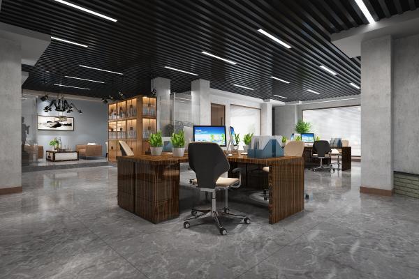 現代開放式辦公室